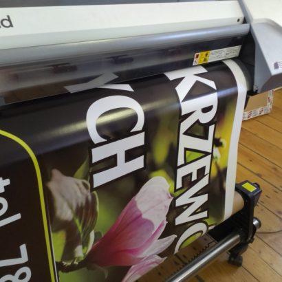 Baner reklamowy drukowany